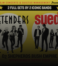 The Pretenders, Suede artist photo