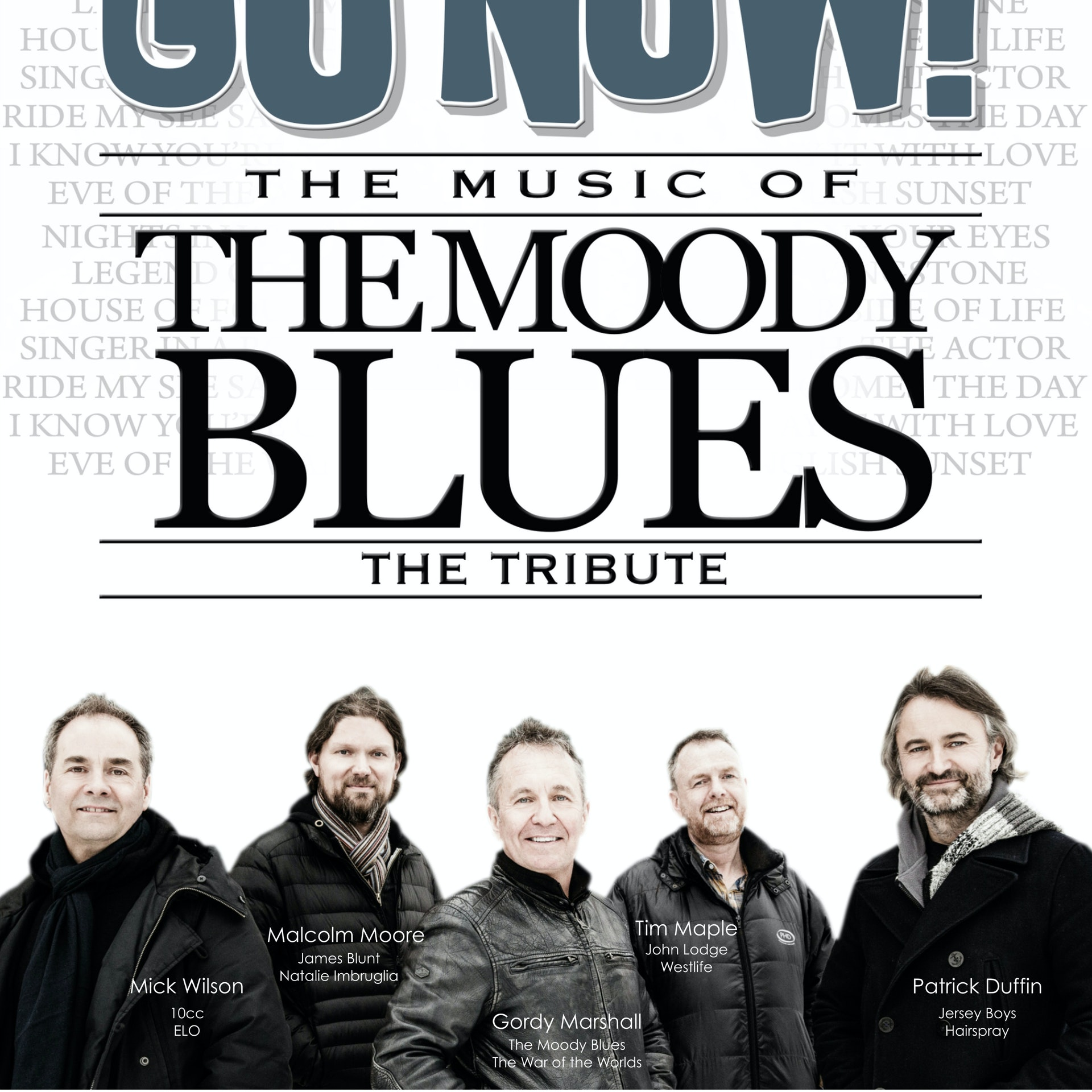 Moody Blues Tour 2020.Go Now The Music Of The Moody Blues Stockton On Tees Tickets Arc 23rd Apr 2020