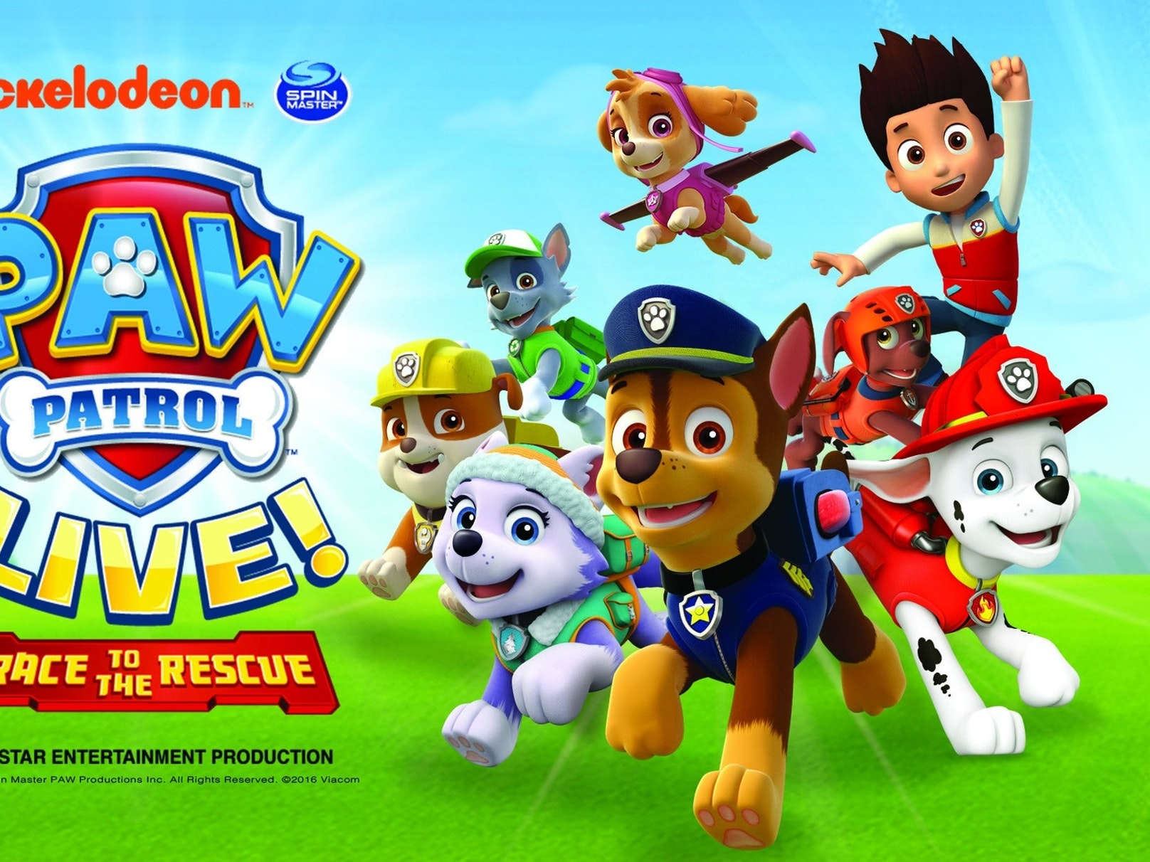 Paw Patrol - Race To The Rescue Glasgow Tickets, SECC, 18th Jul ...