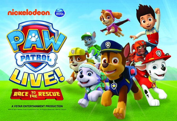 Paw Patrol - Race To The Rescue