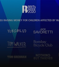 BRITs Week Together with O2 for War Child 2020 artist photo