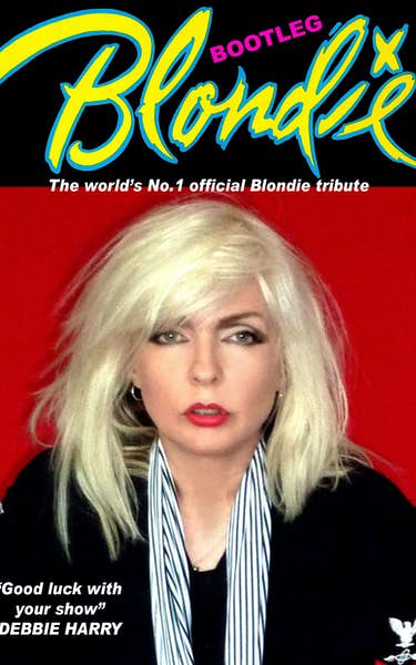 Bootleg Blondie - The World's No.1 Official Blondie and Debbie Harry Tribute Est 2001 Tour Dates