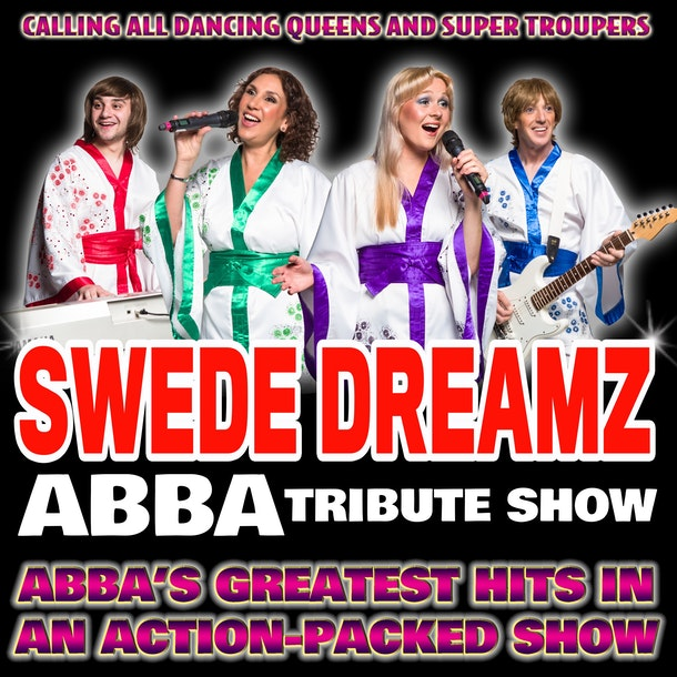 Swede Dreamz ABBA Tribute Band Tour Dates