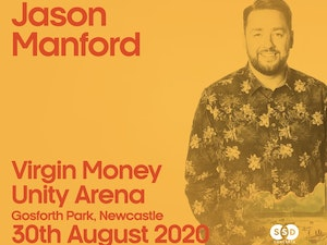 Win tickets to see Jason Manford at Virgin Money Unity Arena, Newcastle