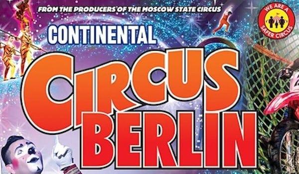 Continental Circus Berlin Tour Dates