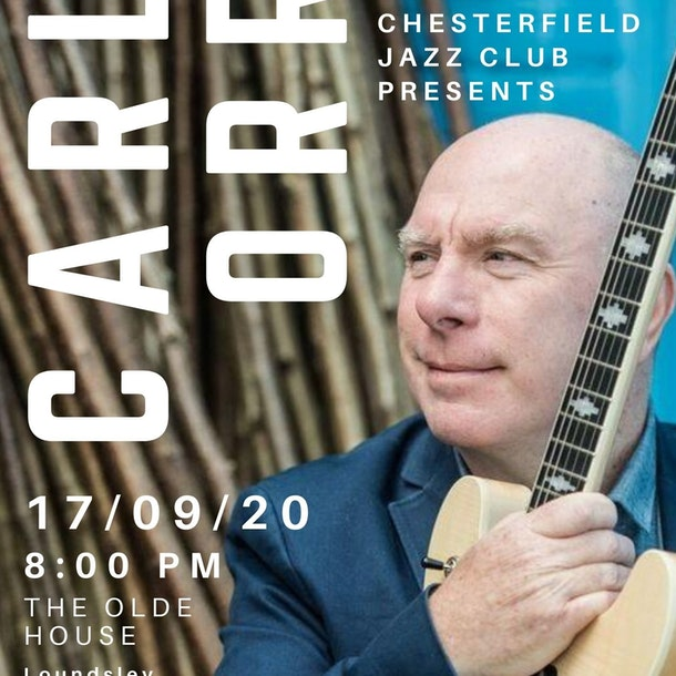Chesterfield Jazz resumes! Feat. Carl Orr, guitar