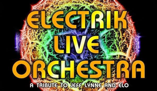 Electrik Live Orchestra Tour Dates