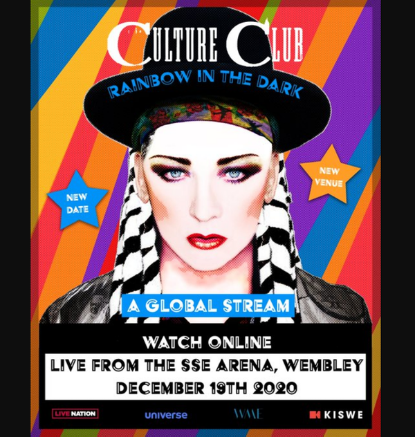 Culture Club - Rainbow In The Dark: Live Stream From SSE Arena, Wembley