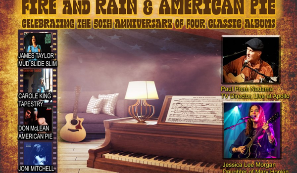 Fire & Rain & American Pie Tour Dates