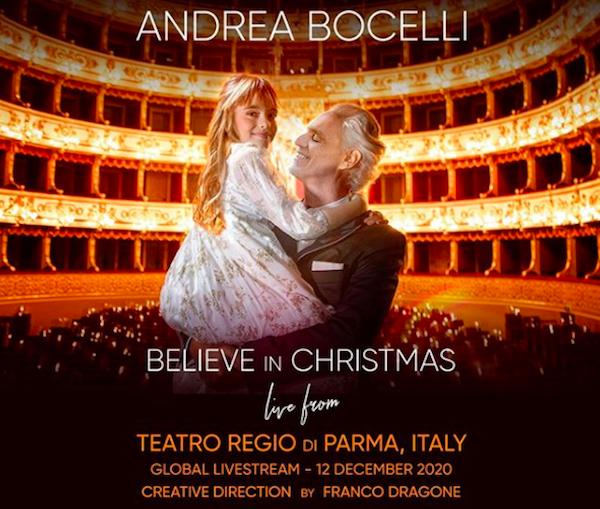 Andrea Bocelli: Believe In Christmas Livestream