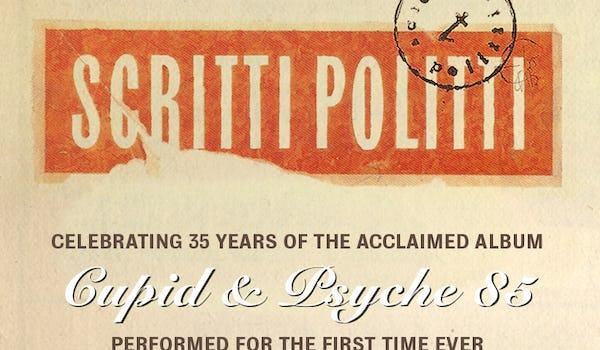 Scritti Politti Tour Dates