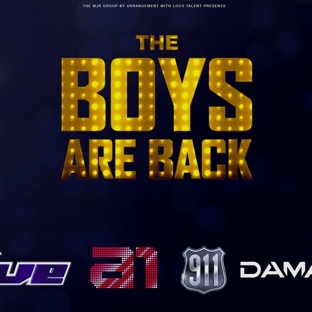 The Boys Are Back Tour Dates