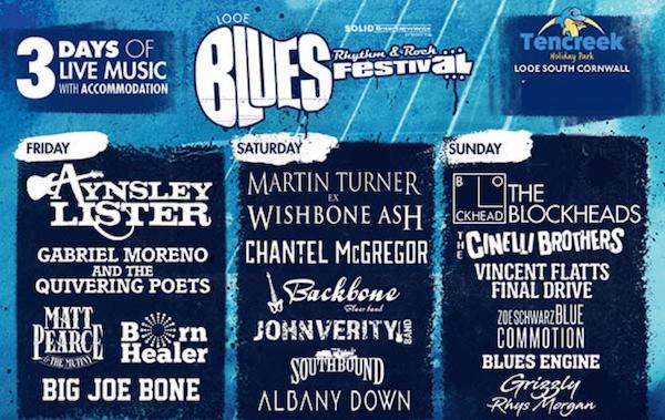 Looe Blues, Rhythm & Rock Festival 2021