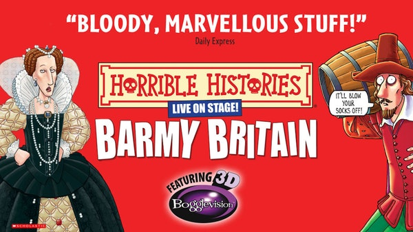 Horrible Histories - Barmy Britain 3D