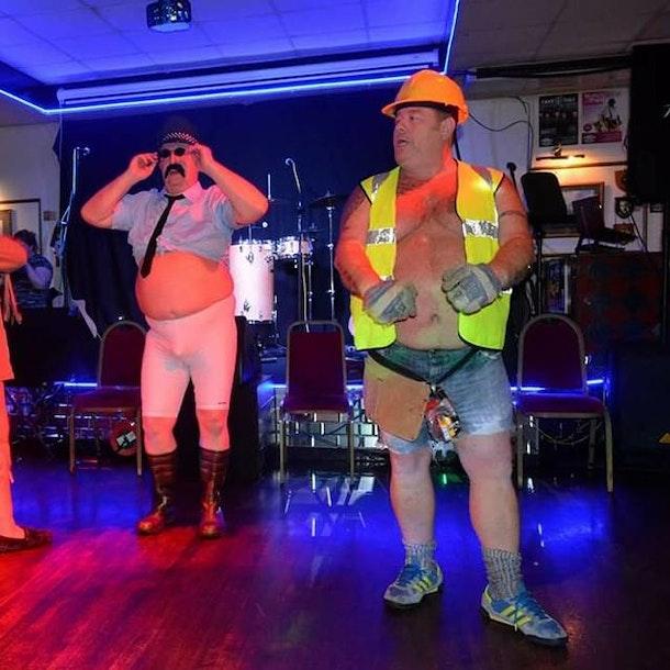 Ultimate Christmas Soul & Motown Fun Show -The FAT Monty's - Swing & Soul Duo