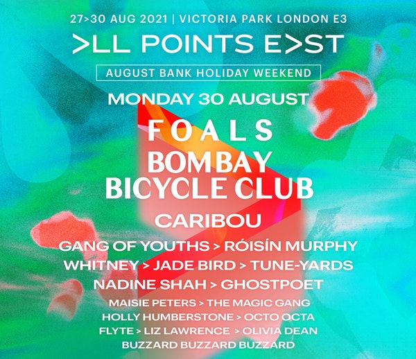 All Points East 2021: Foals & Bombay Bicycle Club