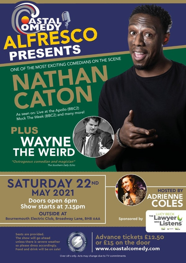 The Coastal Comedy Alfresco Show with Nathan Caton!