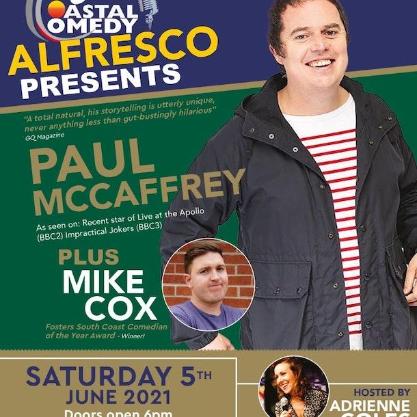 The Coastal Comedy Alfresco Show with Paul McCaffrey!