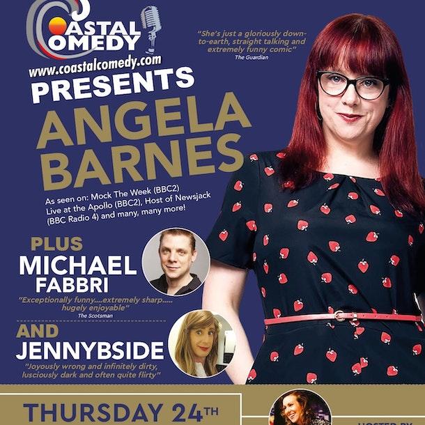 The Coastal Comedy Show with Angela Barnes