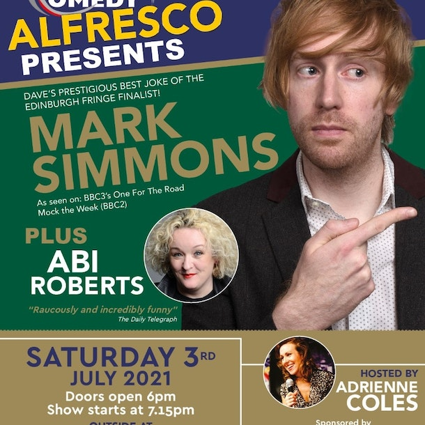 The Coastal Comedy Alfresco Show with Mark Simmons