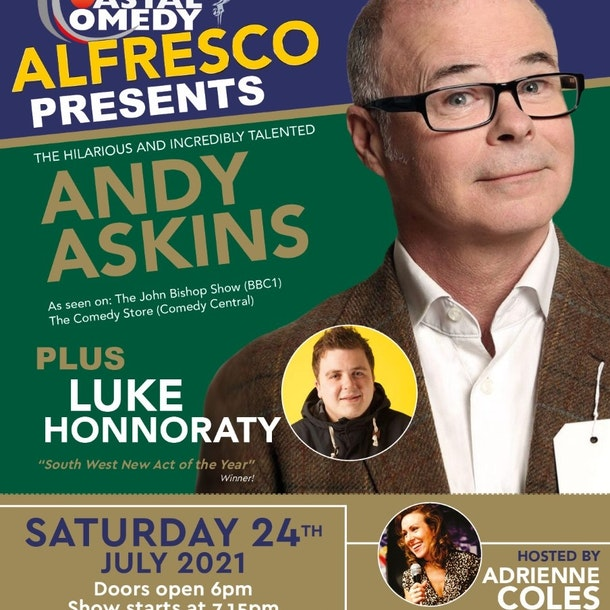 The Coastal Comedy Alfresco Show with Andy Askins!
