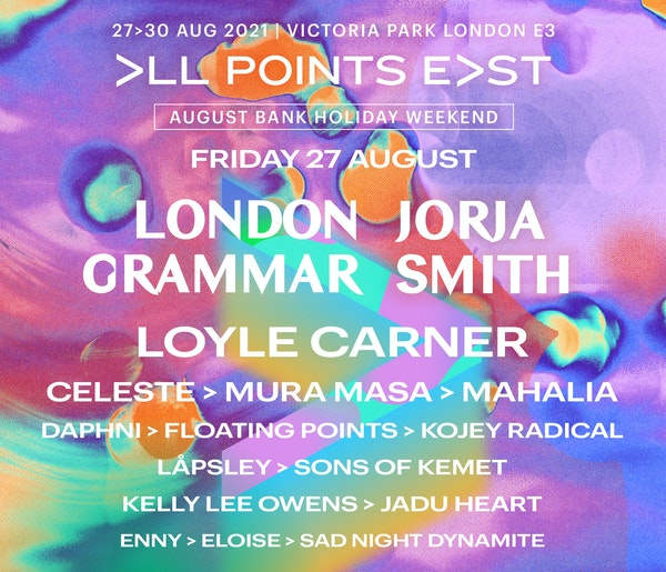 All Points East 2021: London Grammar and Jorja Smith