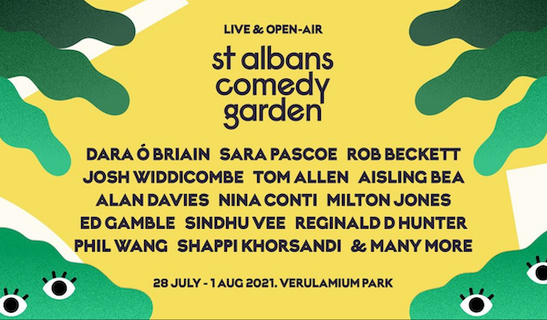St Albans Comedy Garden 7 Events