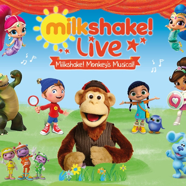 Milkshake! Live - Milkshake Monkey's Musical Tour Dates