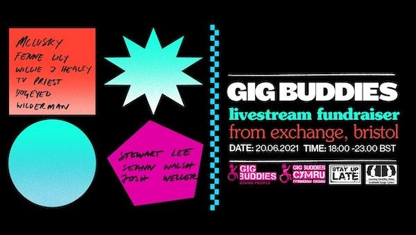 Gig Buddies Livestream Fundraiser
