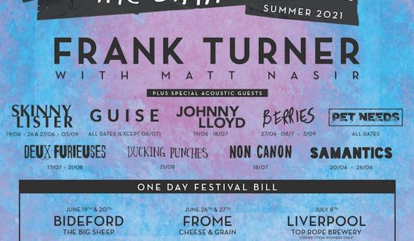 Frank Turner presents The Gathering 2021 6 Events