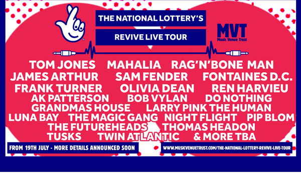 The National Lottery's Revive Live Tour 117 Events
