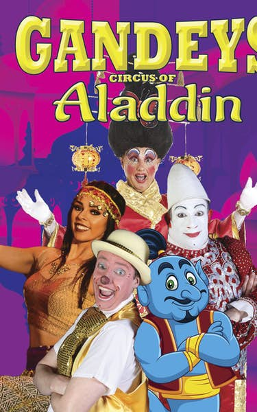 Gandeys Circus of Aladdin
